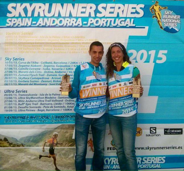 Cristofer Clemente y �ngels Llobera se adjudican las Ultra Series 2015
